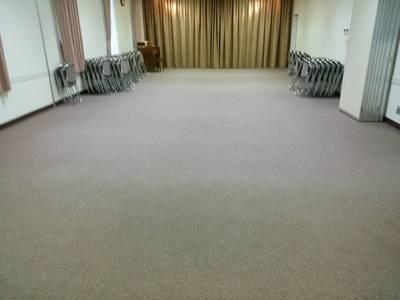 松山市来住町事務所様のカーペットクリーニング