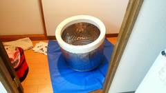 松山市問屋町 N様邸 浴室、トイレ、洗濯機クリーニング