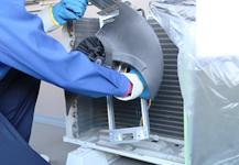 エアコン室外機クリーニング 《エコ洗浄》