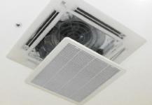 エアコン天井埋込タイプ 《簡易清掃》