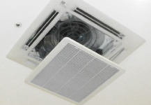 天井取付型エアコンクリーニング 《簡易清掃》